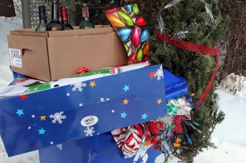 Wrapping paper, tape, gift bags lead to more trash produced over holidays