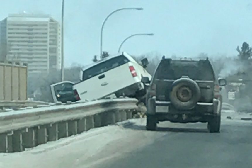 Slow down on slick roads, police warn