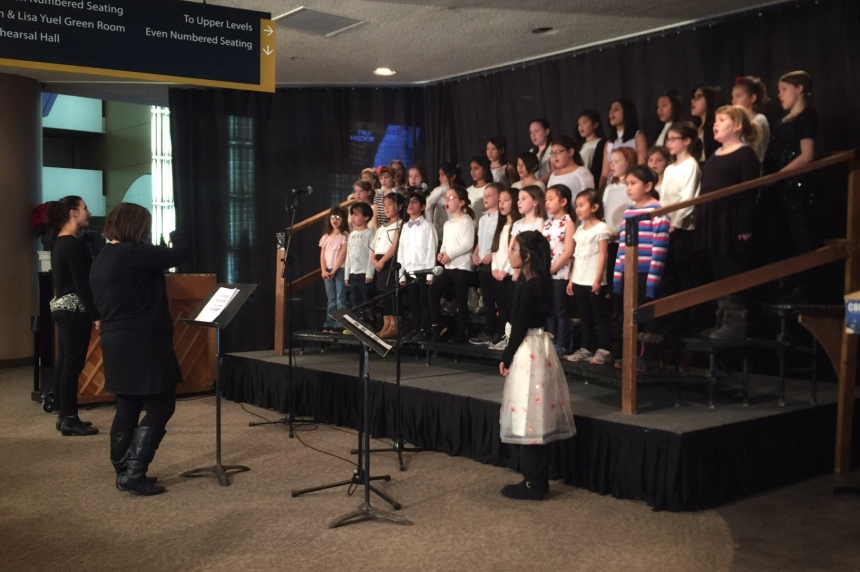 Saskatoon school choirs shine at Festival of Carols