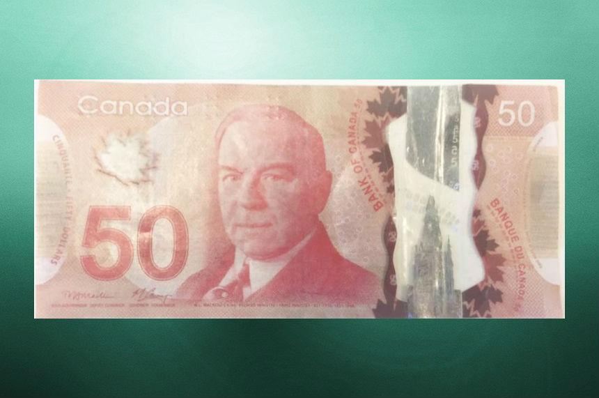 Saskatoon police warn of counterfeit $50 bills