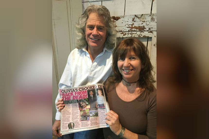 Let's get mistakable: Manitoba man confused for boyfriend of Olivia Newton-John