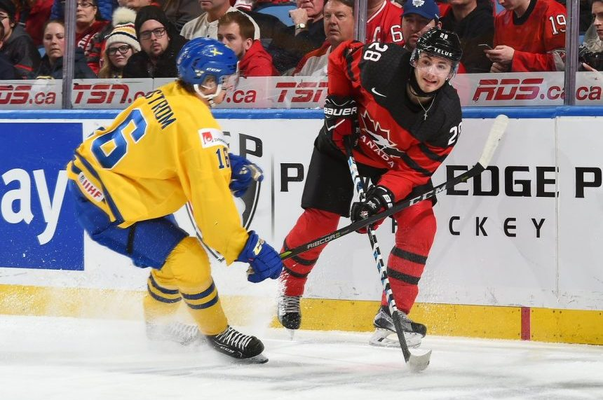 Canada wins gold in 3-1 World Juniors final over Sweden