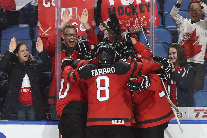 World Juniors: Canada vs. Sweden in gold-medal final