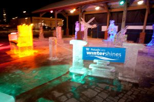 WinterShines ice sculptures