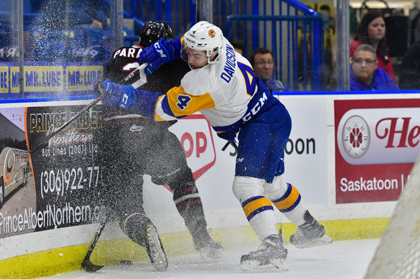 Blades shut out in home loss to Rebels