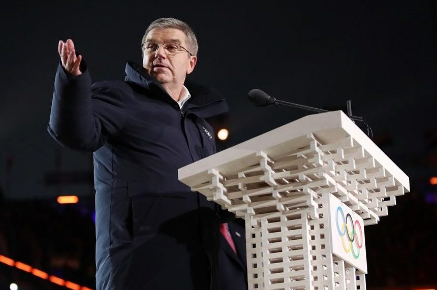Bach: Russian doping scandal didn't stain Winter Olympics
