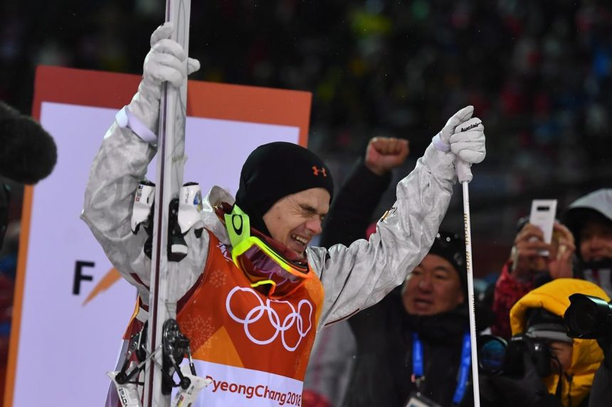 Canada's Mikael Kingsbury wins gold medal in men's moguls