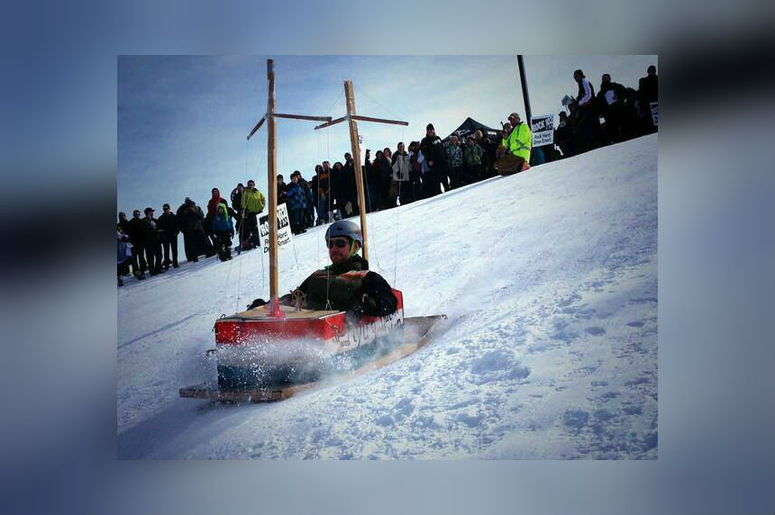Homemade sleds look to wow at Rock 102 Cardboard Cup
