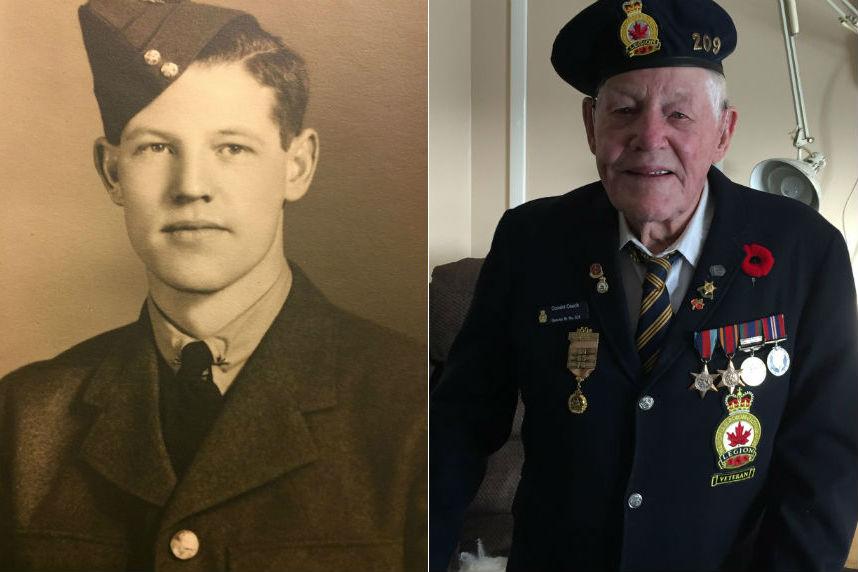 Community, air force help mark Sask. veteran's 100th birthday