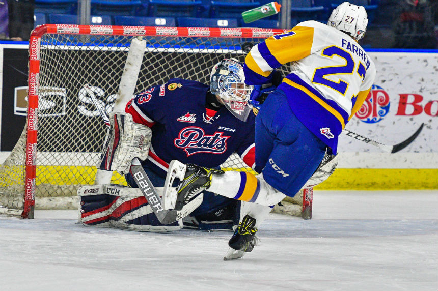 Blades down Pats in shootout, earn much needed 2 points