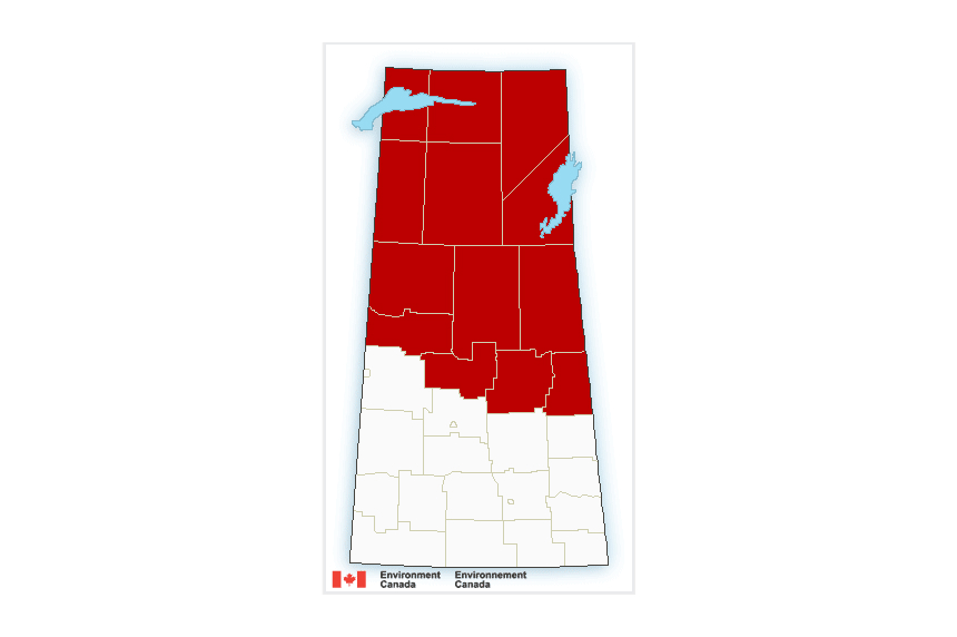 Extreme cold grabs hold of Northern Saskatchewan