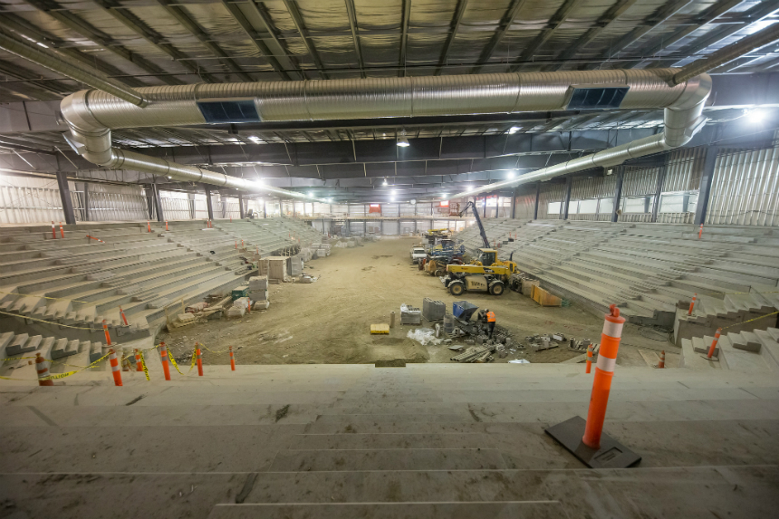 Halfway Mark: Merlis Belsher Place set to open this fall