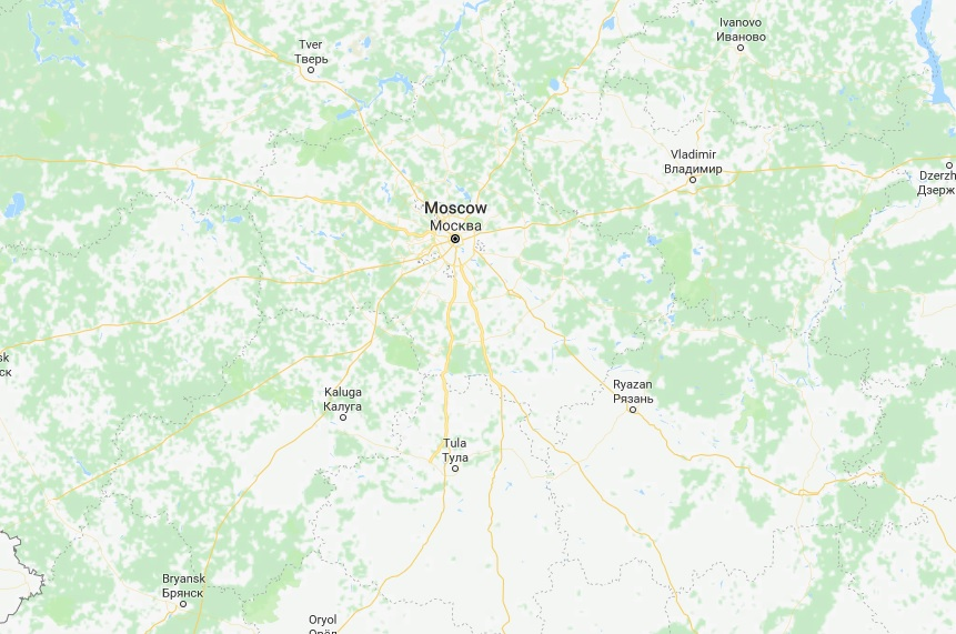 Plane with 71 aboard crashes near Moscow; no survivors seen