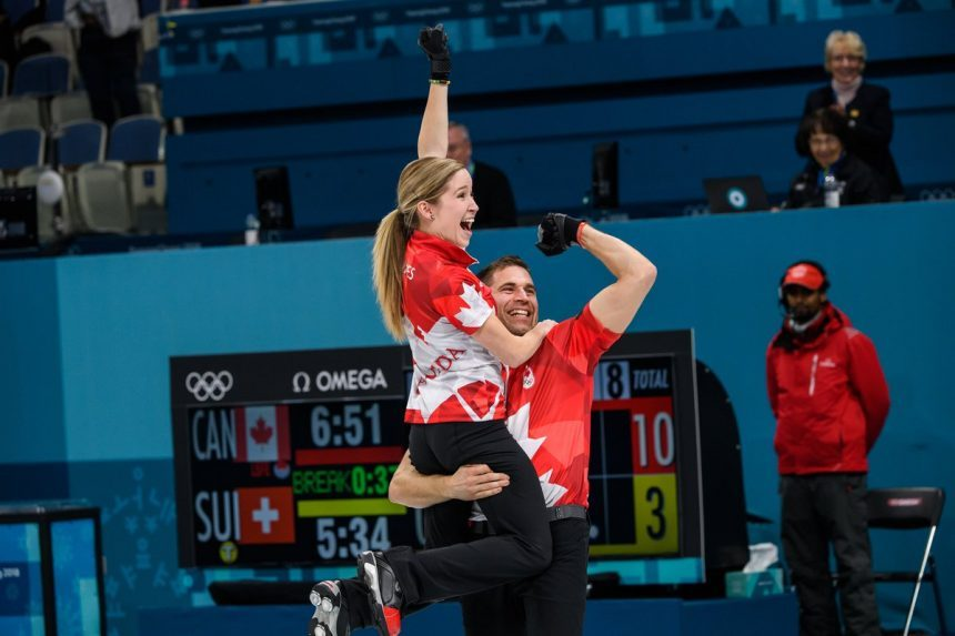 Kaitlyn Lawes and John Morris win mixed doubles curling gold