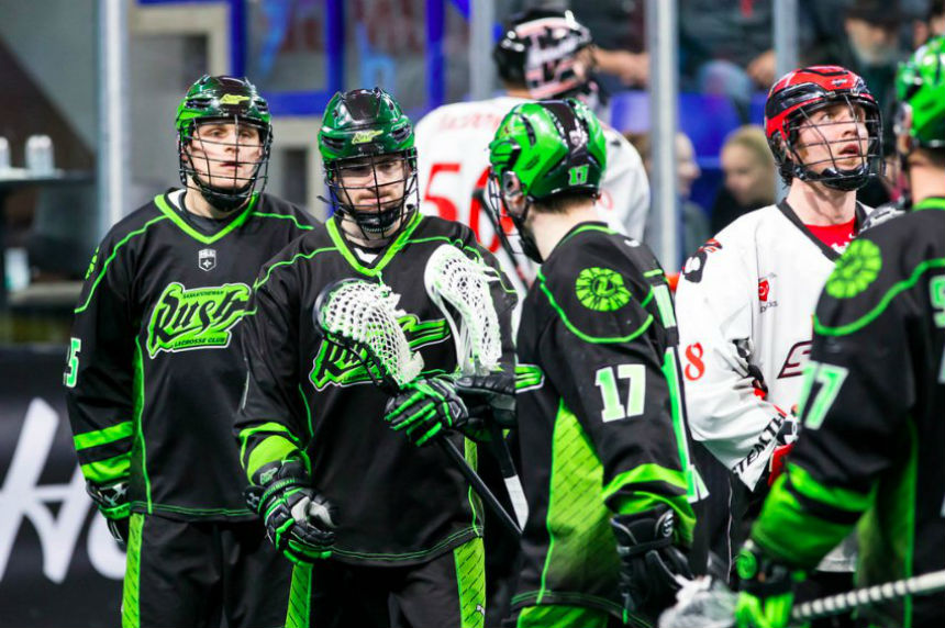 Rush stay perfect on the road with 16-9 win in Vancouver