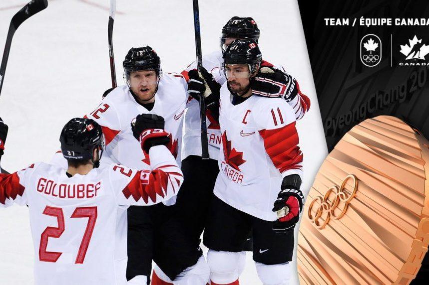 Canada's men's hockey team beats Czechs to win Olympic bronze