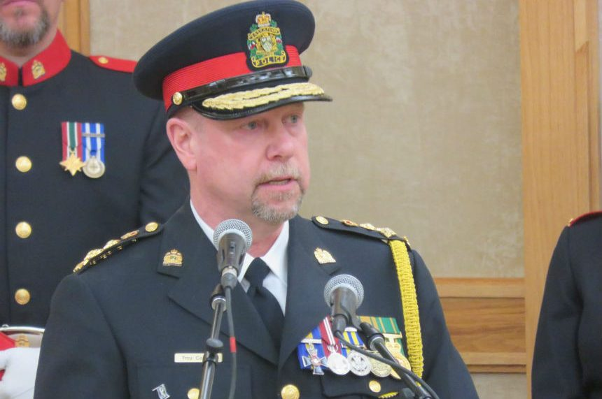 New police chief Troy Cooper welcomed to Saskatoon