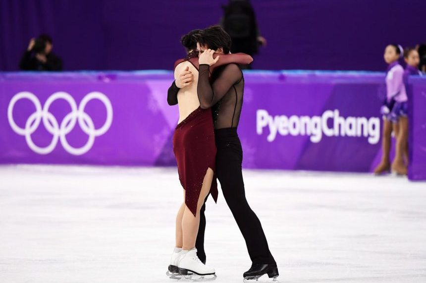 Ice dance darlings Virtue and Moir win second Olympic gold