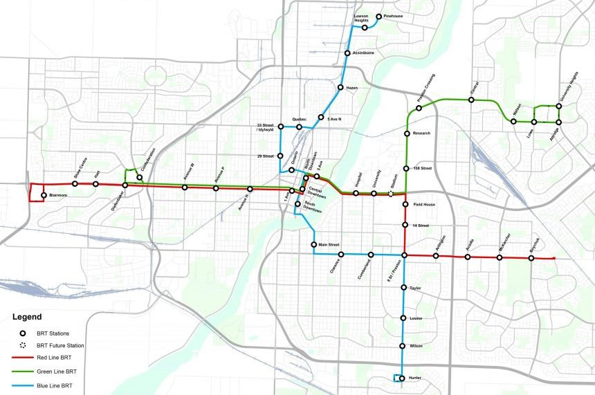 City releases detailed plans for Saskatoon bus rapid transit 650 CKOM
