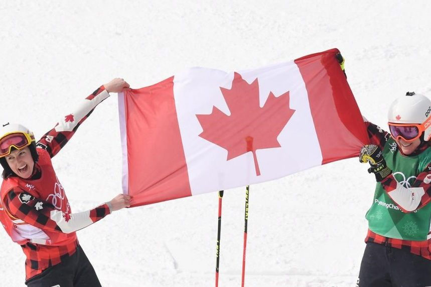 Canadians finish 1-2 in Olympic women's skicross