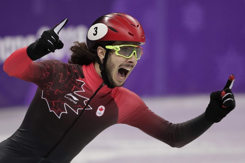 Canada's Samuel Girard wins gold in men's 1,000 metres