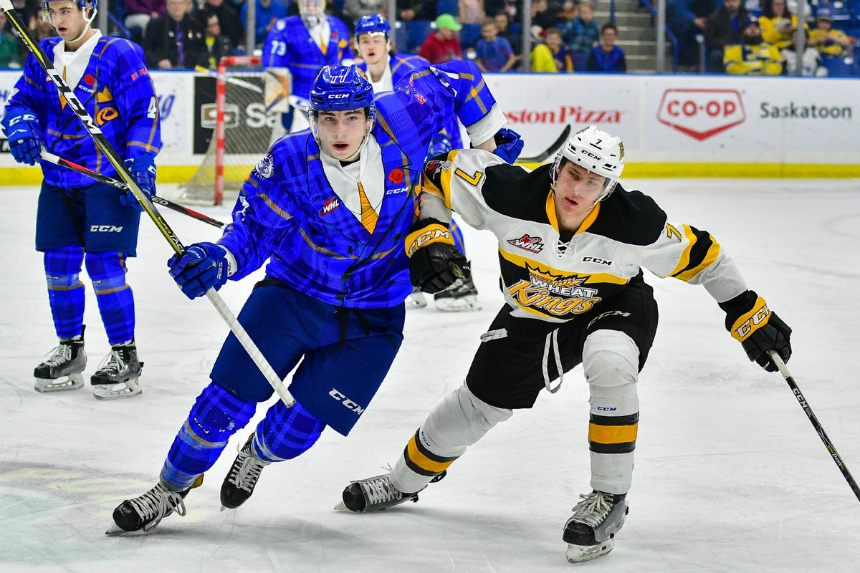 Blades look to take a slice out of Wheat Kings on the road