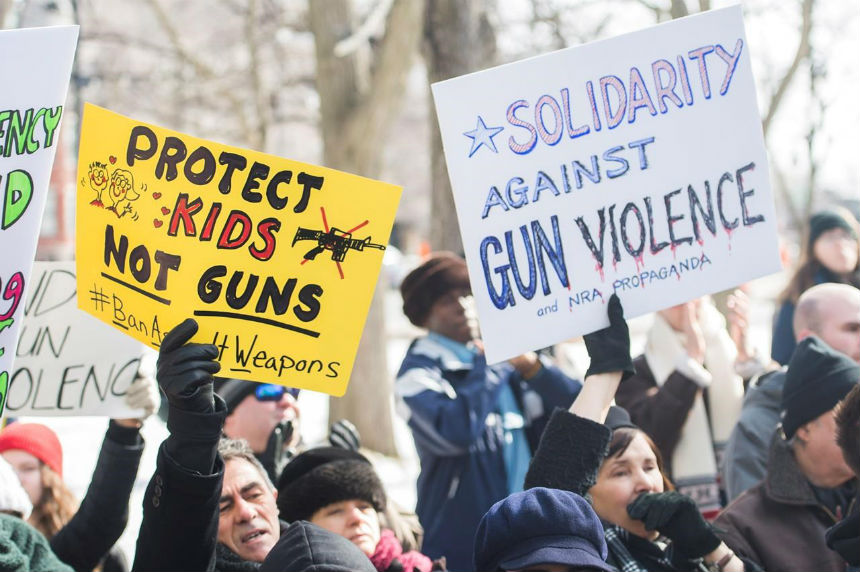 Canadian cities hold March for our Lives events in the wake of Parkland shooting