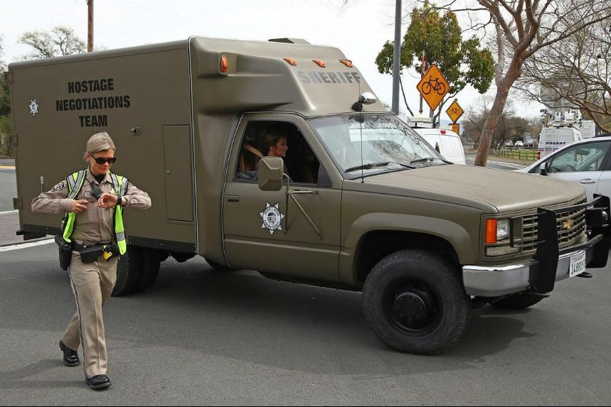 3 workers killed at California veterans centre, gunman dead