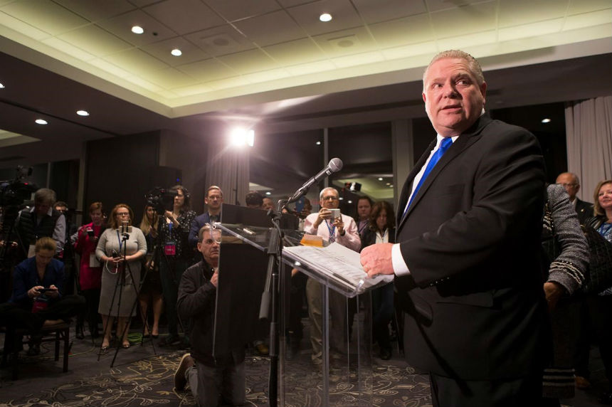 Ontario PC announcement coming after hours of delays; Ford family claims victory