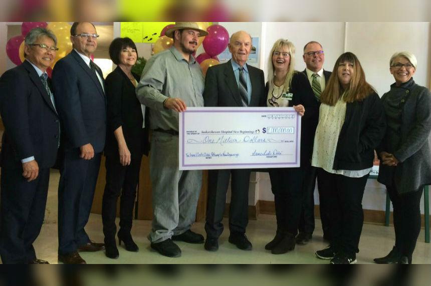 New Saskatchewan Hospital receives $1 million donation
