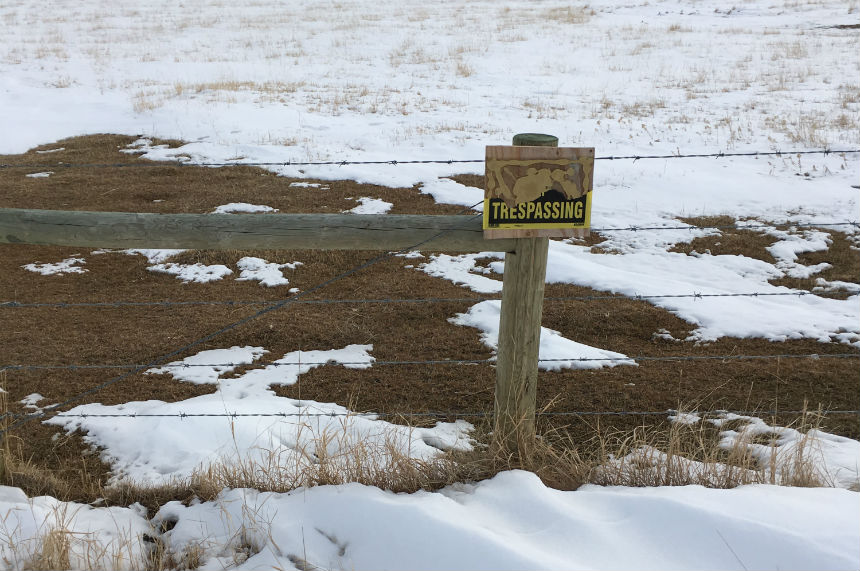 Sask. rancher says changes needed to trespassing law