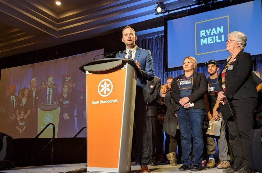 Saskatchewan NDP choose Ryan Meili as new leader