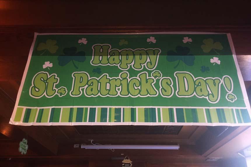 Saskatoon pubs prepare for St. Patrick's Day