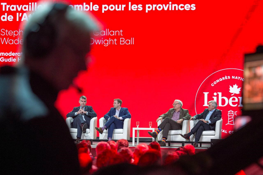Tories still Harper's party, Trudeau tells Liberals at national convention
