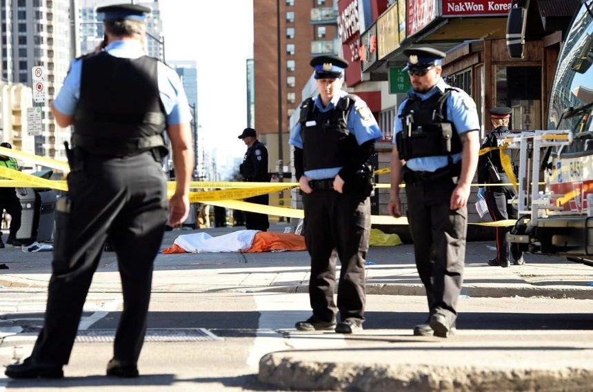 Identities of 10 killed in Toronto van attack will take days to confirm: Coroner