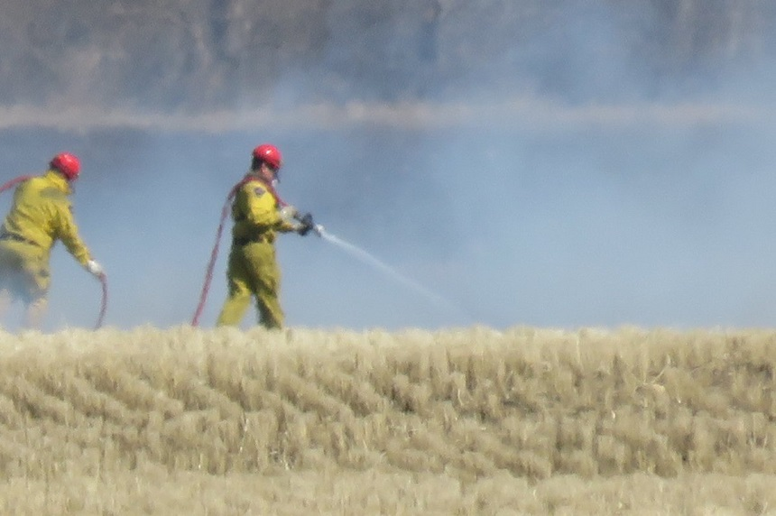 Conditions ripe for grass fires in Sask.: asst. fire chief