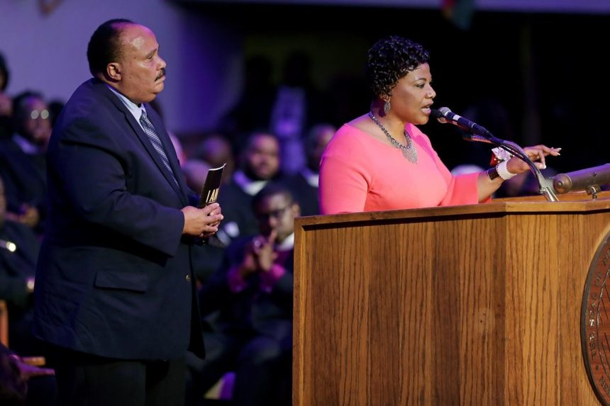Speeches, marches mark Martin Luther King anniversary