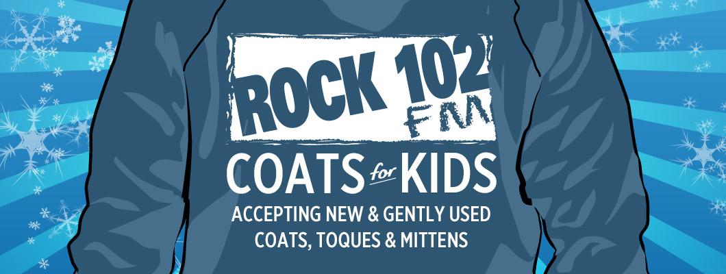 Rock 102 Coats for Kids