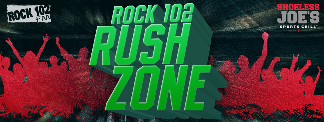Feature: http://www.rock102rocks.com/2017/12/15/rock-102-rush-zone/