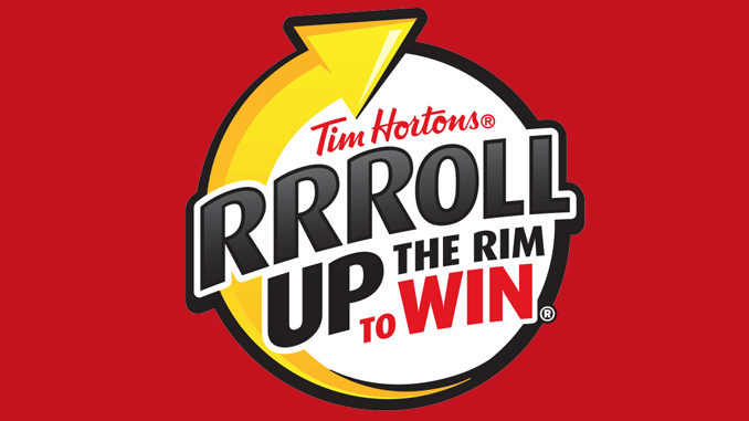 Tim Horton's Roll Up the Rim