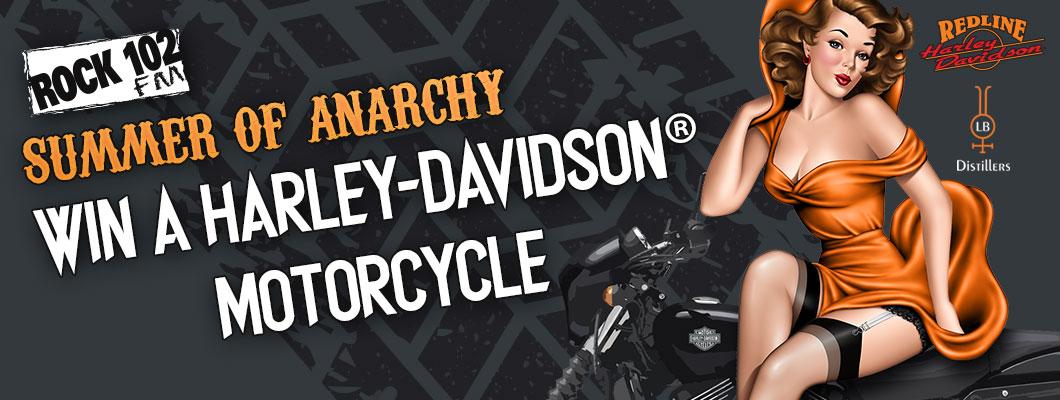 Rock 102 Summer of Anarchy!