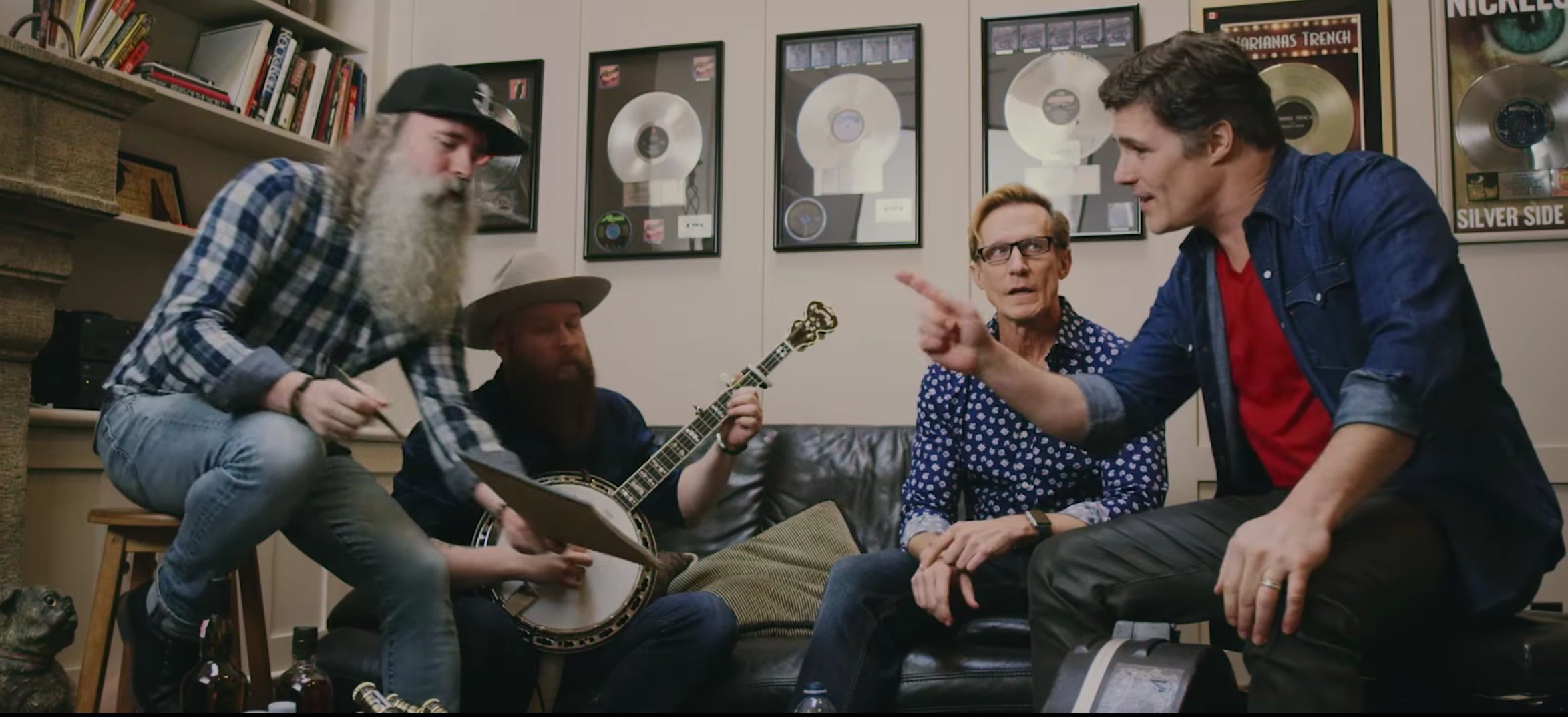 Watch: Washboard Union's newest member...Clay?