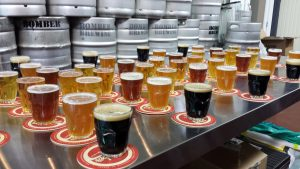 vancouver-brewery-tours-beers-at-bomber-brewing