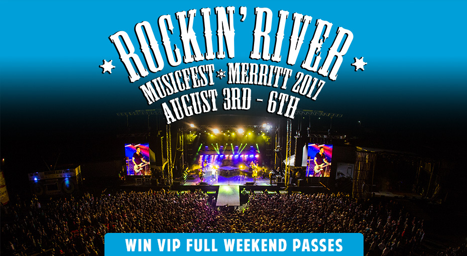 Win VIP Passes with Meet & Greets to Rockin' River Music Festival!