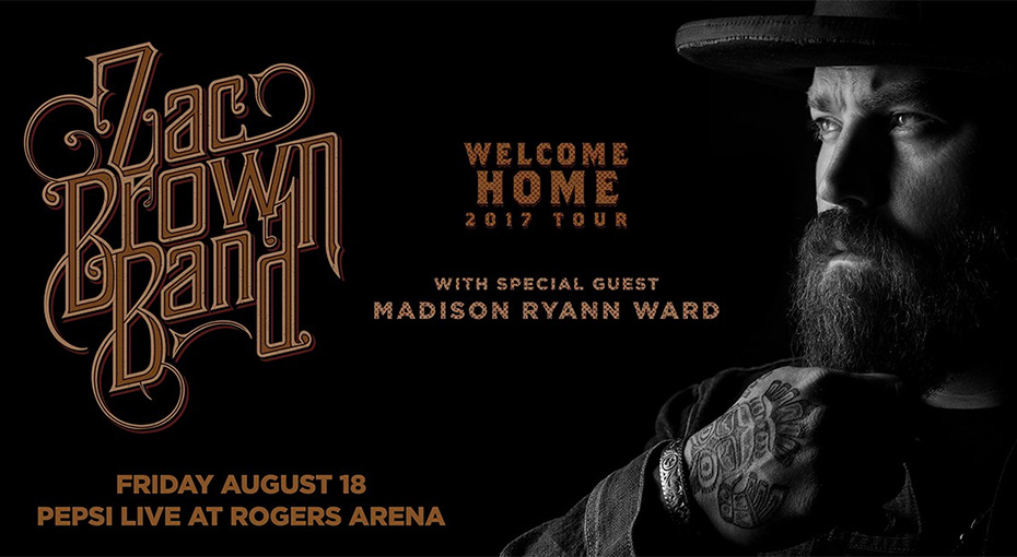 Win Tickets To Zac Brown Band