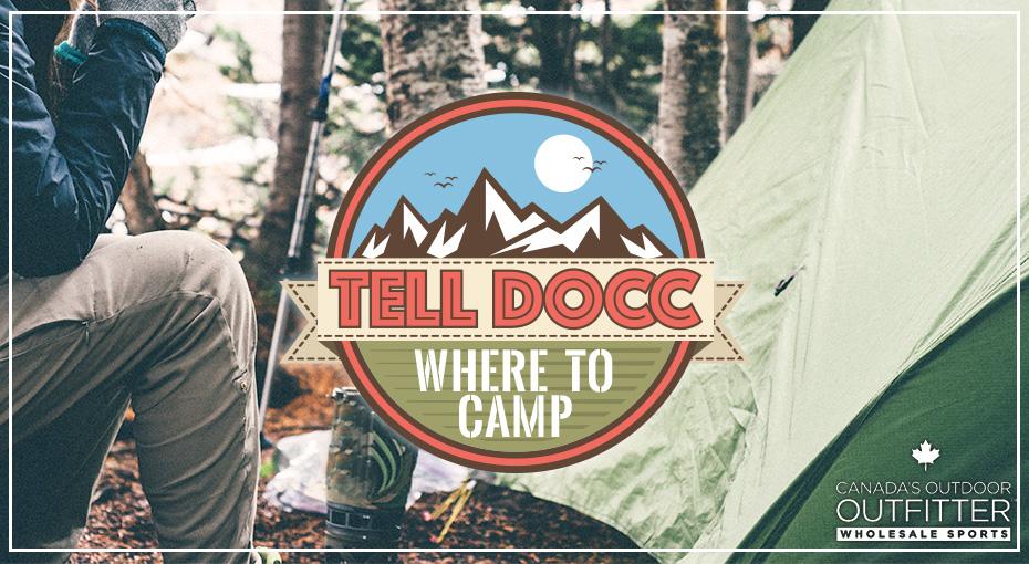 Tell Docc Where to Camp!