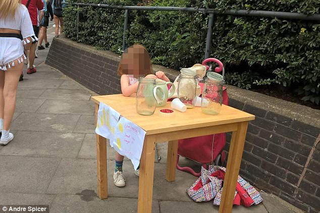 Enforcement officers forced the five-year-old to stop selling lemonade and issued a £150 fine Read more: http://www.dailymail.co.uk/news/article-4722994/Offers-pour-girl-5-fined-lemonade.html#ixzz4niO4ymvy Follow us: @MailOnline on Twitter | DailyMail on Facebook