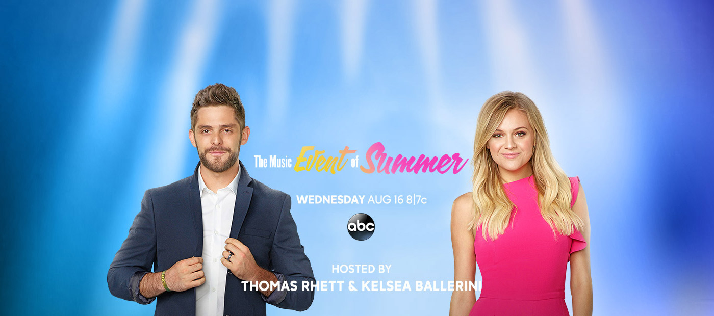"Thomas Rhett and Kelsea Ballerini land in your living room for the ""CMA Fest"" special this Wednesday"