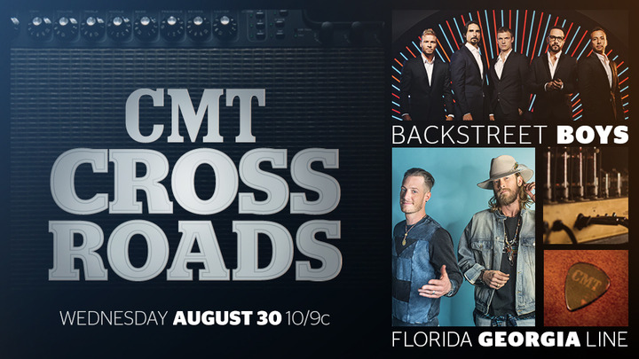 Florida Georgia Line & Backstreet Boys Team Up For CMT Crossroads Tonight!