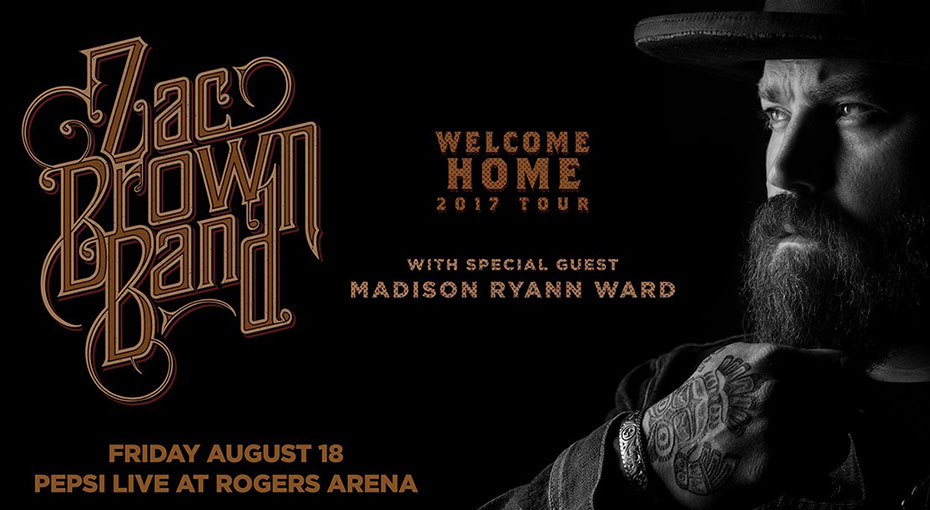 See Zac Brown Band in Concert
